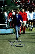 FOOTBALL: Selection of signed 8 x 10 photographs by various footballers and managers including Brian