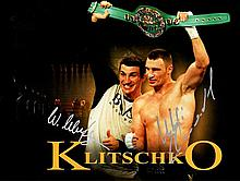 BOXING: Selection of signed 8 x 10 photographs by various boxers, most of them World Champions, incl