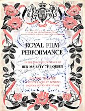 CINEMA: A printed 4to souvenir programme for a Royal Film Performance of Beau Brummell at the Empire