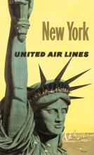 New York - United Air Lines (Statue of Liberty)