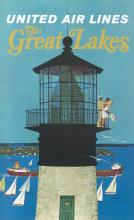 United Air Lines - The Great Lakes