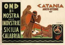 Prima Mostra Delle Industrie Sicilia Calabria