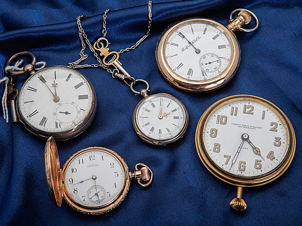 Collection of 5 Pocket Watches