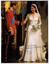 Prince William and Princess Catherine, Duke and Duchess of Cambridge, Signed Photo