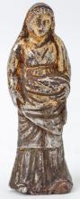 Roman Silver-Gilt Female Figurine