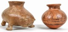 Two Ancient Panamaian Pottery Pieces 1200-1500 AD