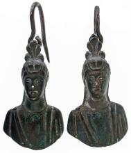 Roman Silver Earrings