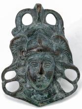 Roman Bronze Mercury Ornament