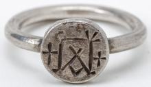 Byzantine Silver Signet Ring