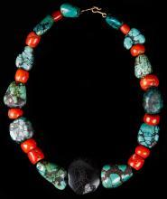 Himalayan Eye Bead Necklace