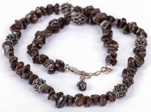 Meteorite Jewelry Necklace