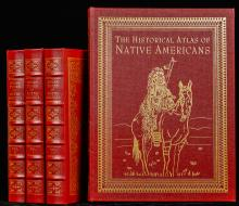 Easton Press: History of Indian Tribes North America + Historical Atlas