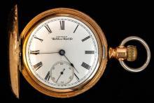 Waltham Hunter Case Pocket Watch C.1890's