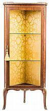 A DISPLAY CABINET, EARLY 20TH CENTURY