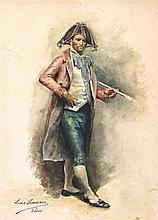 LUIS JIMÉNEZ ARANDA 1845 Sevilla 1928 Personaje