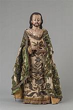ESCUELA MEXICANA, S. XVIII Jesús bendiciendo