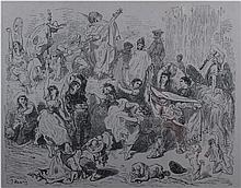 GUSTAVE DORÉ 1831 Estrasburgo 1882 Fiestas de Alcoy