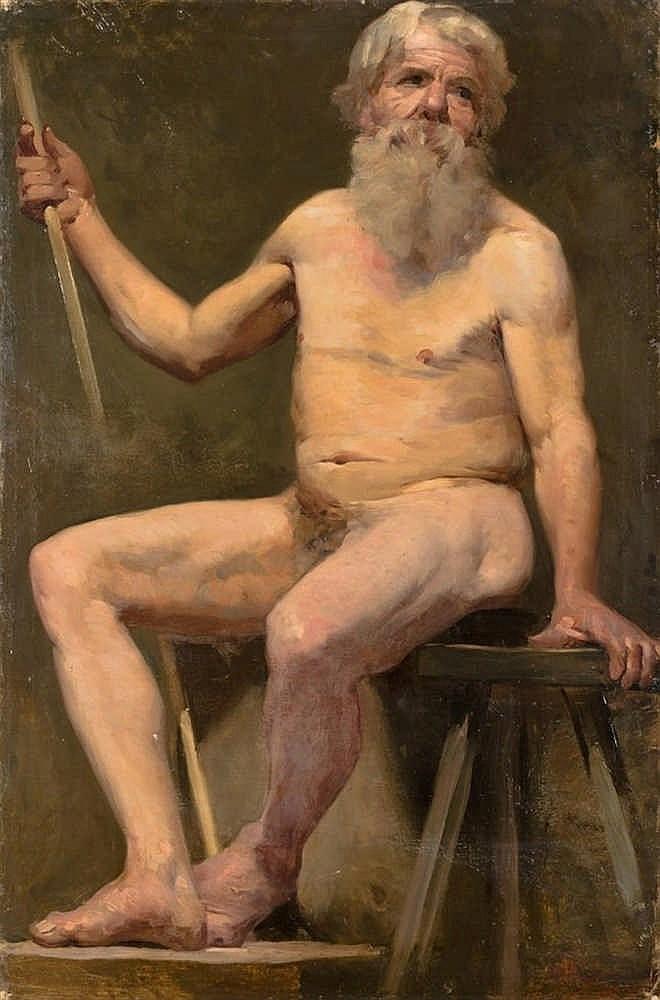 JOSÉ VILLEGAS CORDERO. Oil on canvas