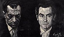 JOSÉ MANUEL CAPULETTI. Oil on canvas