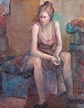 PEDRO EXTREMERA DÍAZ. Oil on canvas