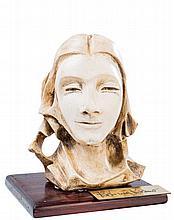 KOSIMA KOSMO. A female bust