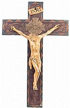 SPANISH SCHOOL, EARLY 20TH CENTURY. The Crucifix