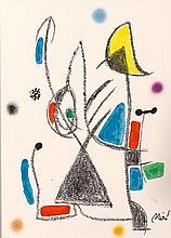 JOAN MIRÓ 1893 Barcelona 1983 Maravillas con Variaciones Acrósticas en el Jardín de Miró
