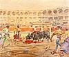 ÁNGEL GONZÁLEZ MARCOS 1900 Madrid 1978 Corrida de toros, Angel Gonzalez Marcos, €220