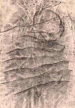 HERBERT BRANDL. Mixed technique on paper