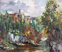 JOSÉ VENTOSA DOMENECH. Oil on canvas