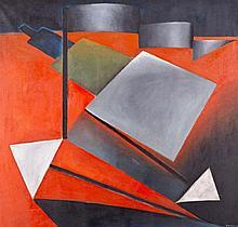 ANTONIO ROJAS. Oil on canvas