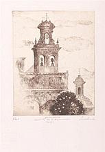 FRANCISCO CUADRADO. Engraving