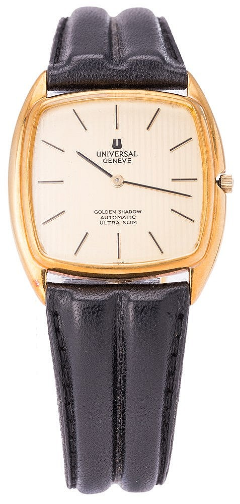 UNIVERSAL GENEVE GOLDEN SHADOW WRISTWATCH