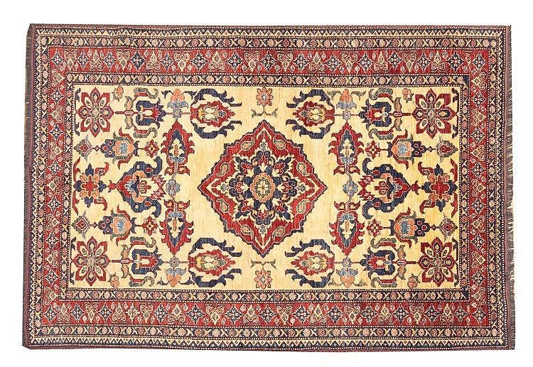 A PAKISTANI WOOL CARPET