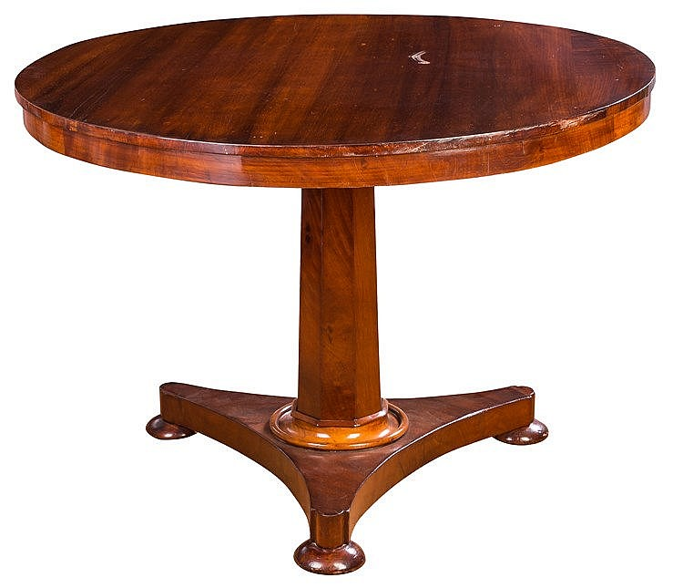 A VICTORIAN TIP TOP TABLE, 19TH CENTURY