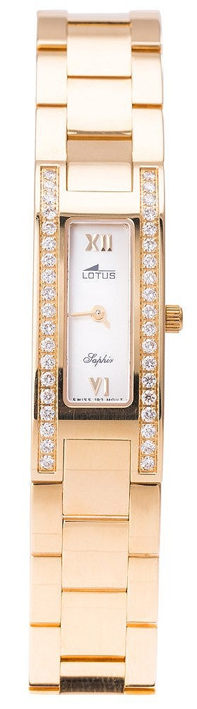 A LADY'S WRISTWATCH, BY LOTUS SAPHIR