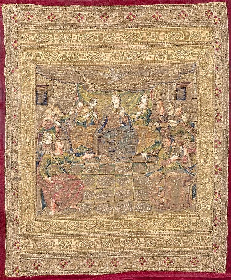 A LITURGICAL CLOTH, 16TH CENTURY