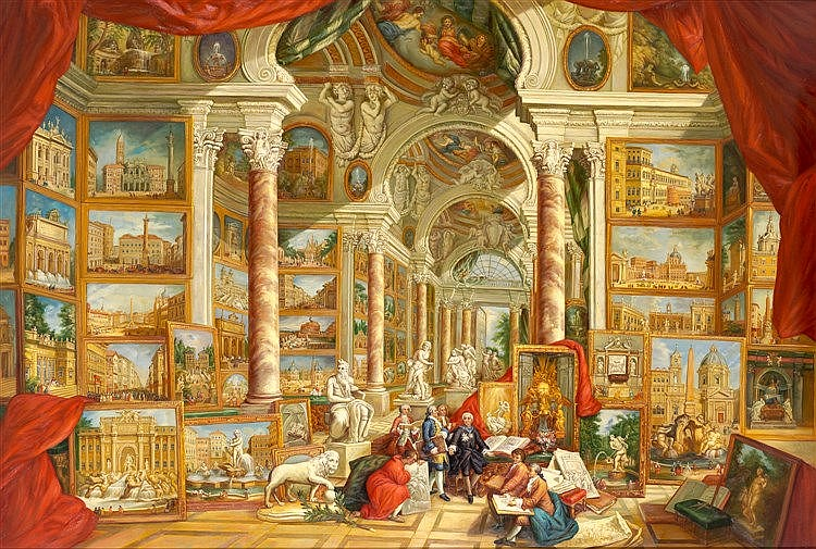 AFTER GIOVANNI PAOLO PANNINI