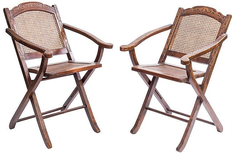 A PAIR OF CHINESE CHAIRS, CIRCA 1930