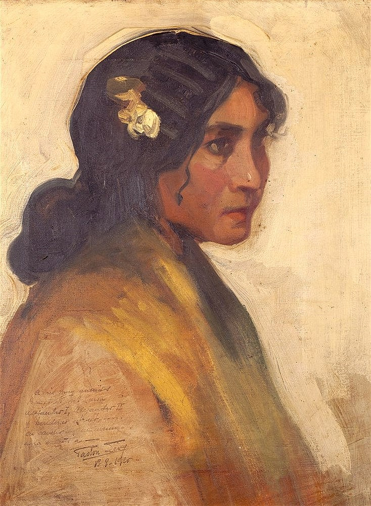 GASTÓN LEVY (19TH/20TH CENTURY) GYPSY