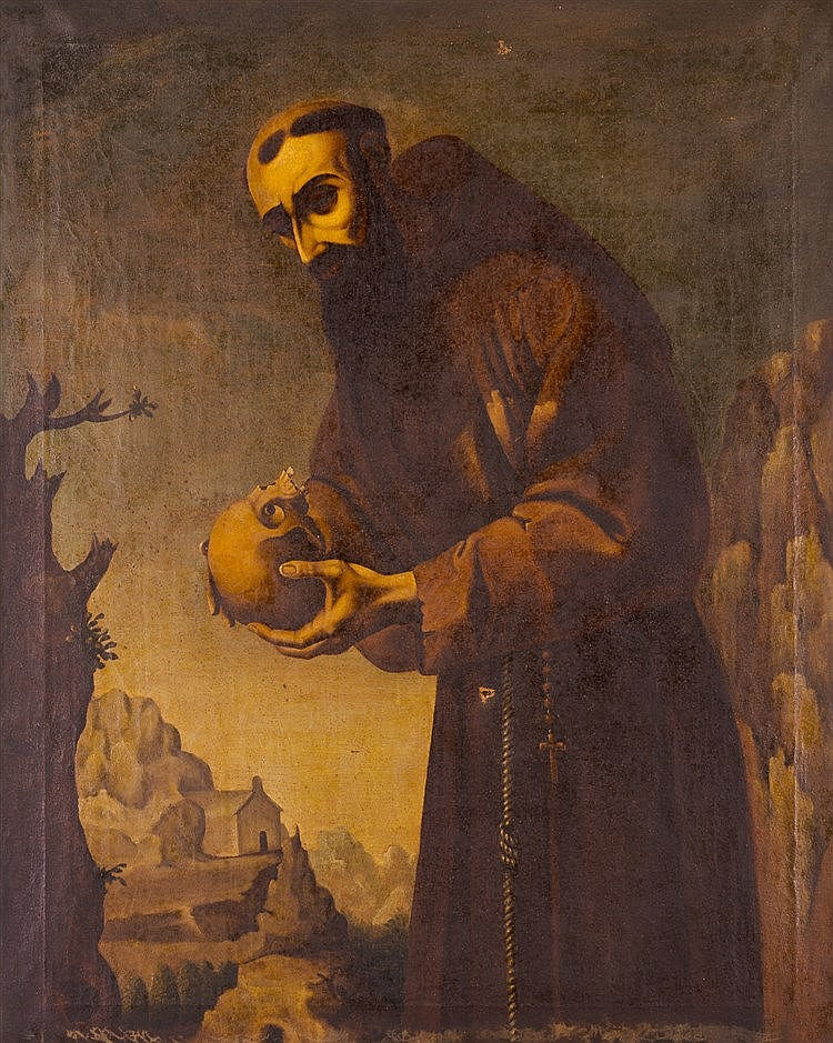 FOLLOWER OF FRANCISCO DE ZURBARÁN - San Francisco