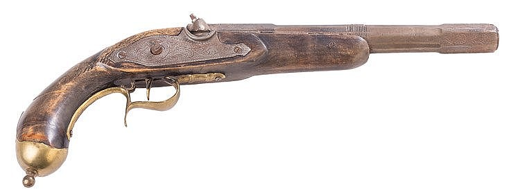 AN AUSTRIAN blunderbuss, 19TH CENTURY