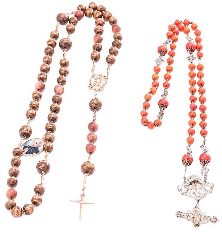 A CORAL ROSARY