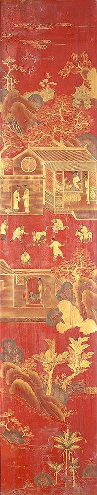 A CHINESE PANEL, 18TH CENTURY