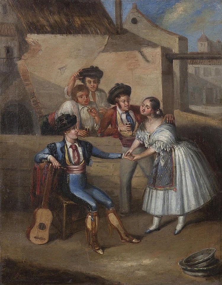 SEVILLIAN SCHOOL, 19TH CENTURY