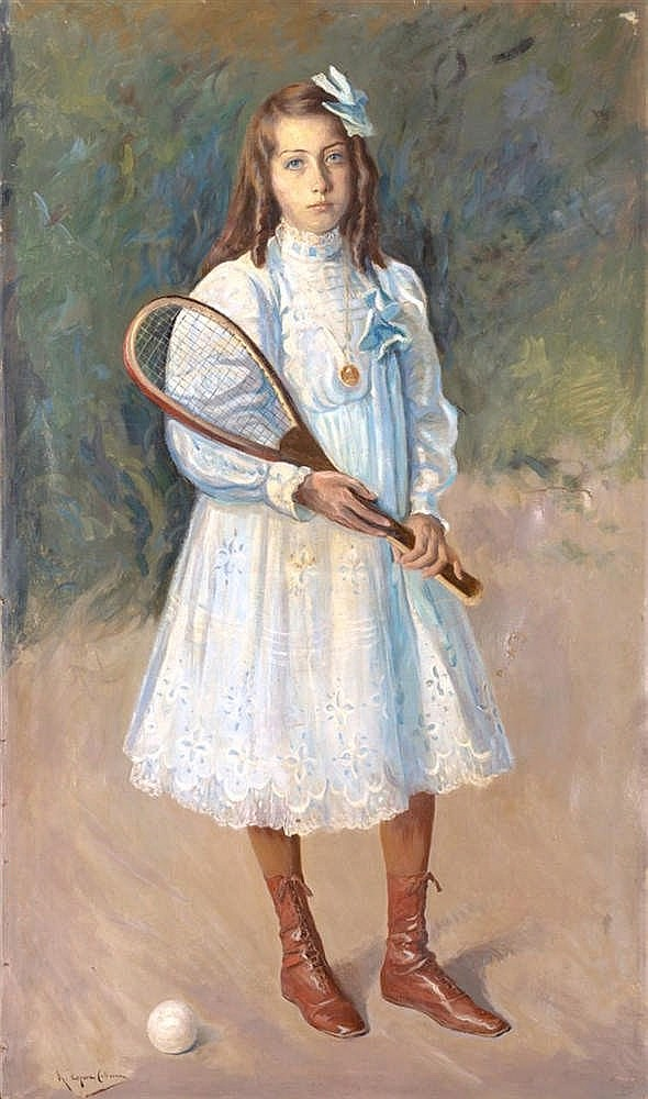 RICARDO LOPEZ CABRERA - A GIRL WITH RACKET