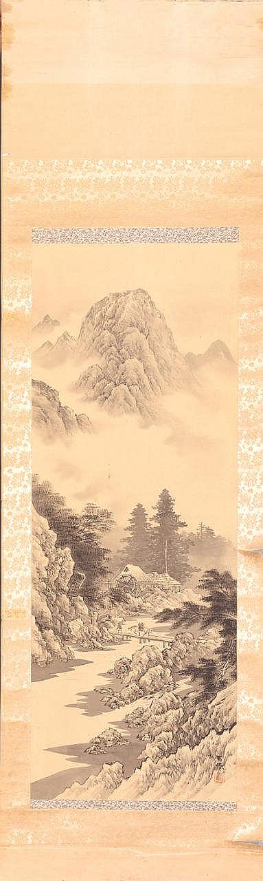 A Japanese Kakemono, 20TH CENTURY