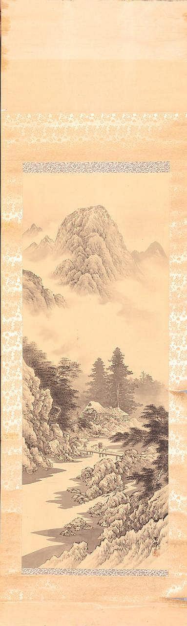 A Japanese Kakemono,  20TH CENTURY