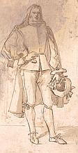 CIRCLE OF VELAZQUEZ - RETRATO DE CABALLERO DE CUERPO ENTERO