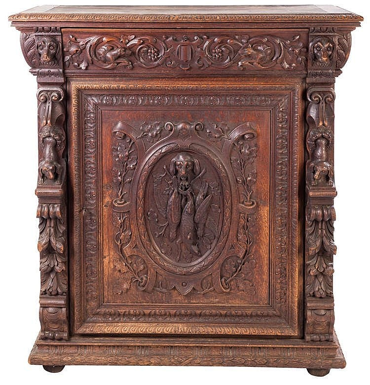 A CABINET, 19TH CENTURY